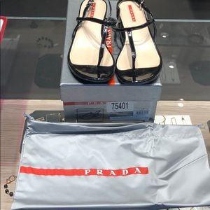 Prada new in box sandal size 37